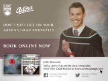 Don't miss out on your Artona grad portraits
